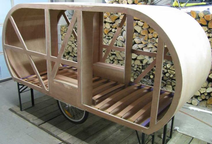 Bicycle Camper Trailer - Roof On #1 Photo:  This Photo was uploaded by Giraut. Find other Bicycle Camper Trailer - Roof On #1 pictures and photos or uplo...