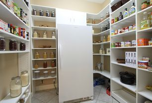 1000 ideas about bookshelf pantry on pinterest pantry for Modern walk in pantry
