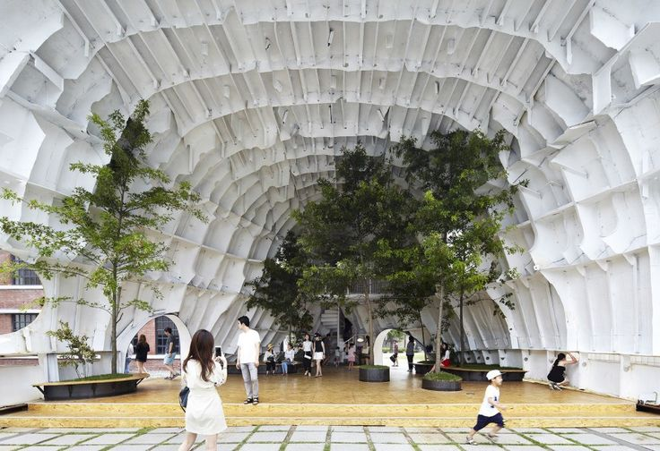 Temp'L, Temp'L by shinslab architecture, shinslab architecture, Young Architects Program, South Korea, Seoul, National Museum of Modern and Contemporary Art, Museum of Modern Art, MoMA, MoMA Young Architects Program, MoMA PS1, pavilion, art installation, recycling, recycled art, ship