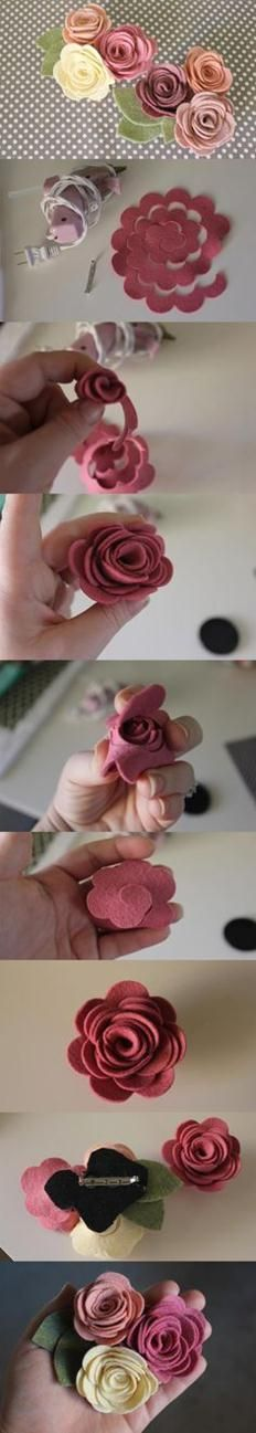 Felt crafting is so easy ~ 17 Interesting DIY Fashion Ideas