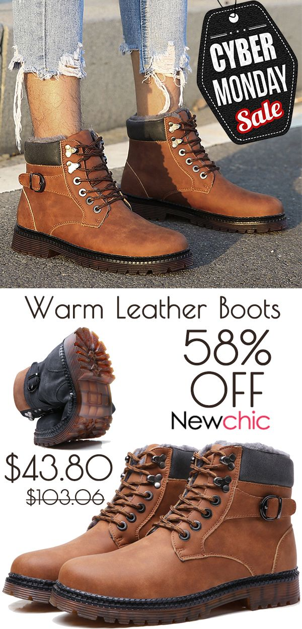 Casual leather boots, Boots, Mens boots