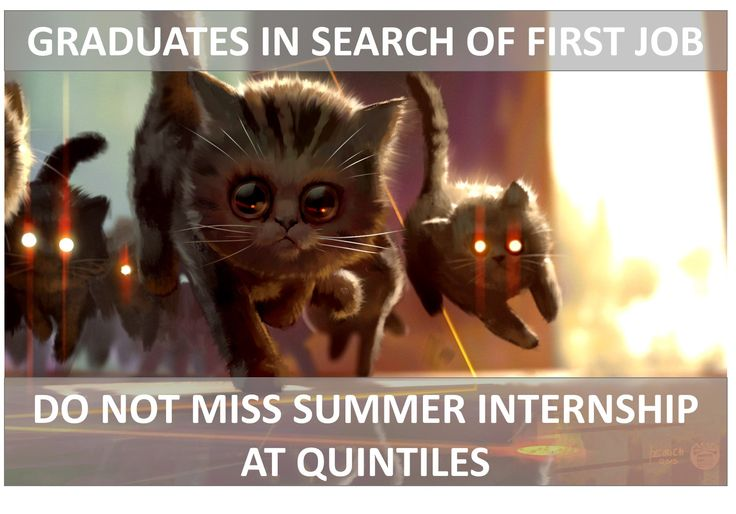 See ya soon on on-line career fair for students and graduates. Visit Quintiles page on www.expo.hh.ru/employer/108189 to learn about career opportunities for early talents.