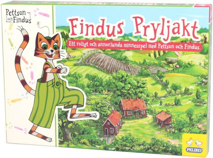 Pettson och Findus - Pettson & Findus, Barnspel, Pryljakt - Leksaker