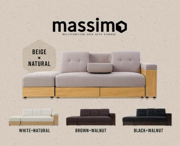 Massimo Multifunction Sofa With Storage Bedandbasics Sg Sofa Bed With Storage Sofa Multipurpose Furniture