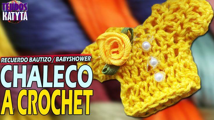 Chaleco - Sueter a Crochet ༺✿ƬⱤღ✿༻