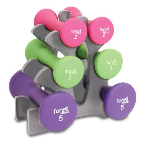 Have to have it. Tone Fitness 20 lb. Hourglass Dumbbell Set - $37.98 @hayneedle.com