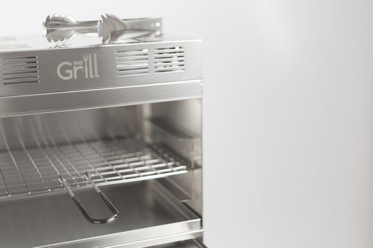 WeGrill Folding the best to grill outdoor. No smoke and no flames. www.wegrill.eu #wegrill