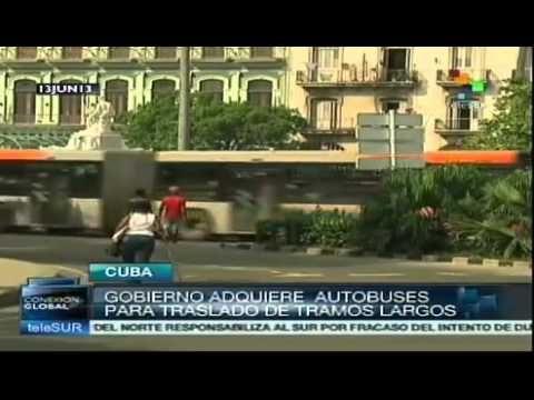 Transporte público en Cuba, diverso y eficiente
