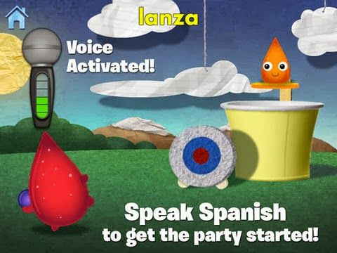 Learning Spanish with Rosetta Stone's Kids App