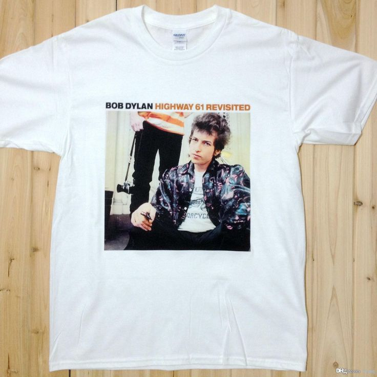 Bob Dylan Highway 61 Revisited Rock Music Band Tee T Shirts Unisex Bd1 Shopping T Shirt Online Cool T Shirt Sites From Liousq, $9.94| Dhgate.Com