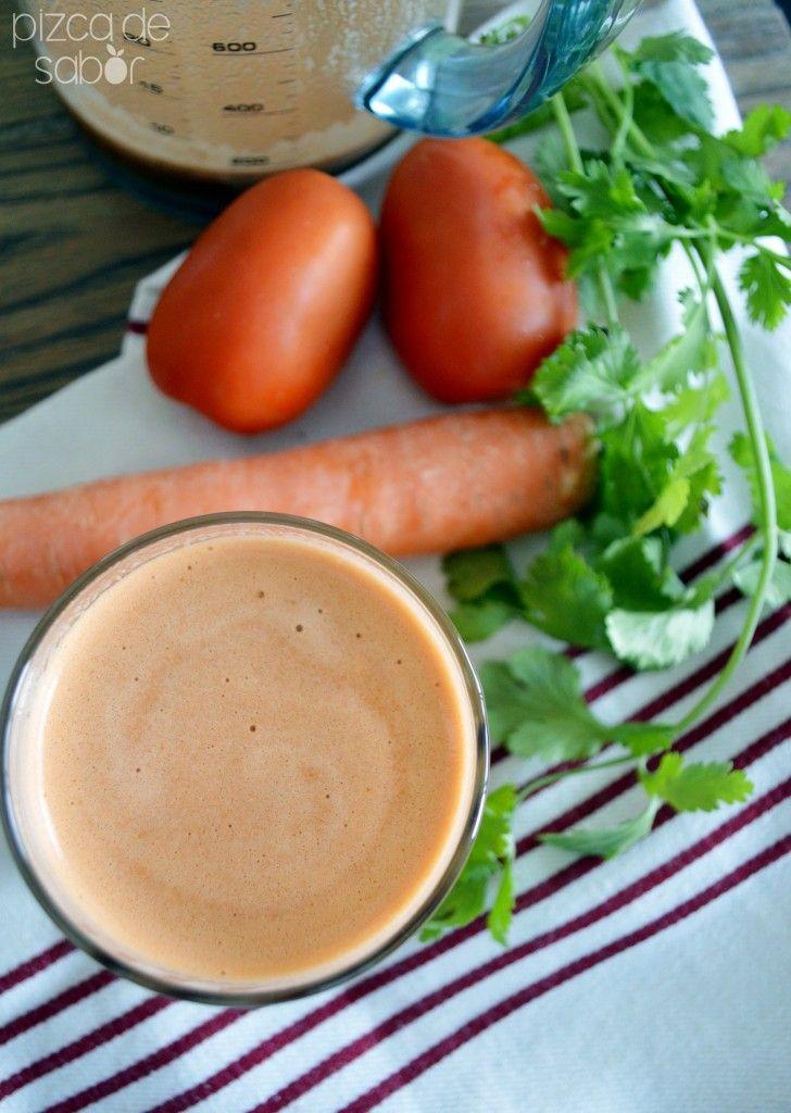 Jugo V8 natural – de tomate con vegetales www.pizcadesabor.com