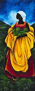 Caribbean Painting - Season Avocado by Patricia Brintle