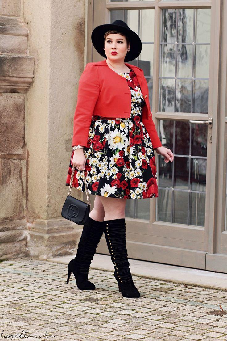 Plus Size Fashion - Lu zieht an.