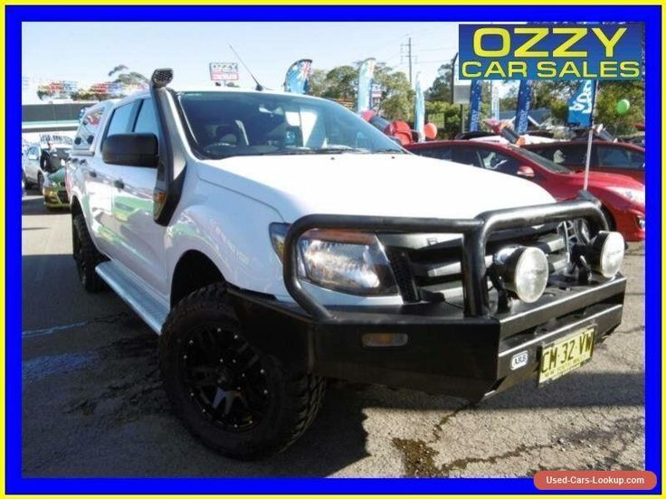 2012 Ford Ranger PX XL 3.2 (4x4) White Automatic 6sp A Dual Cab Utility #ford #ranger #forsale #australia