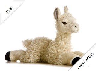 """Aurora World 12"""" Llama Flopsie"""