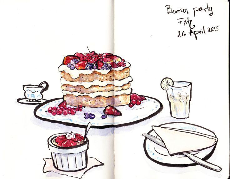 Fah Illustration — Happy Tea time !!! :)