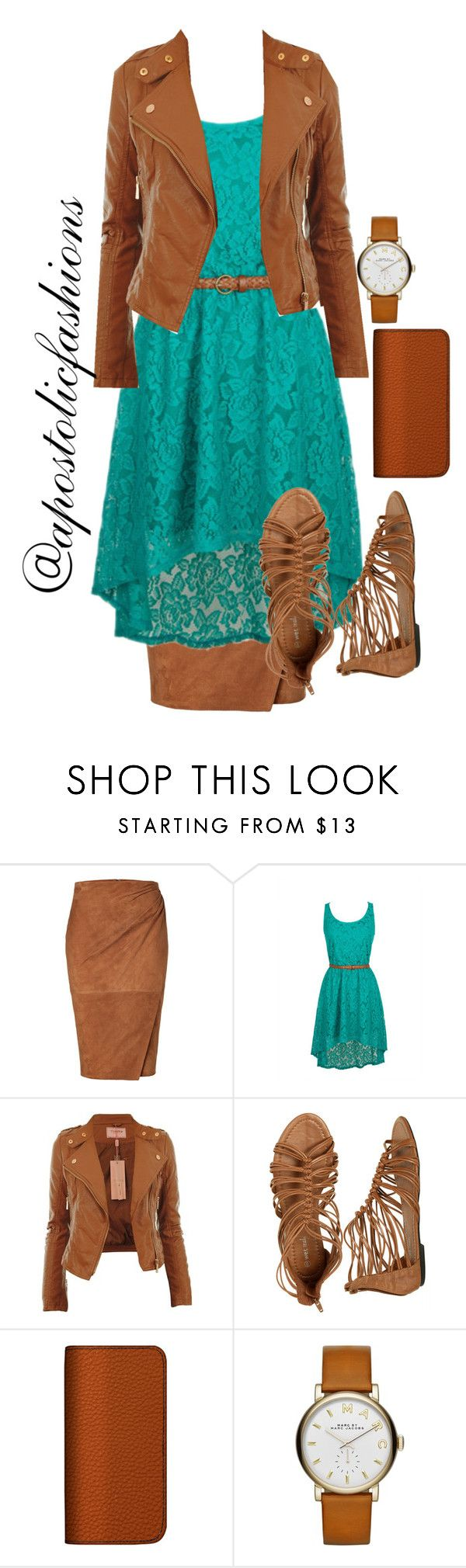 """Apostolic Fashions #1261"" by apostolicfashions on Polyvore featuring Ralph Lauren Collection, Wet Seal, Maison Takuya and Marc Jacobs"
