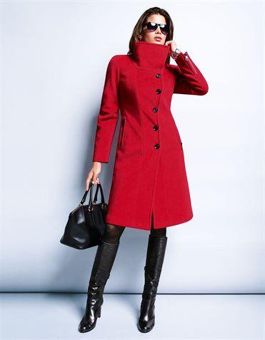 abrigos rojos - Buscar con Google