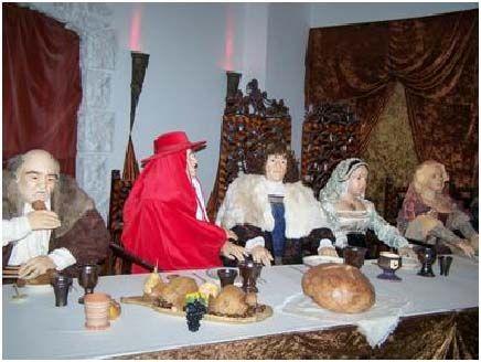 A királyi és főúri asztalokra kerülő ételek sora bőséges és választékos volt. Mátyás király nem kenyérhéjon és levesen tengette az életét, mint ahogy a meséből ismeretes…