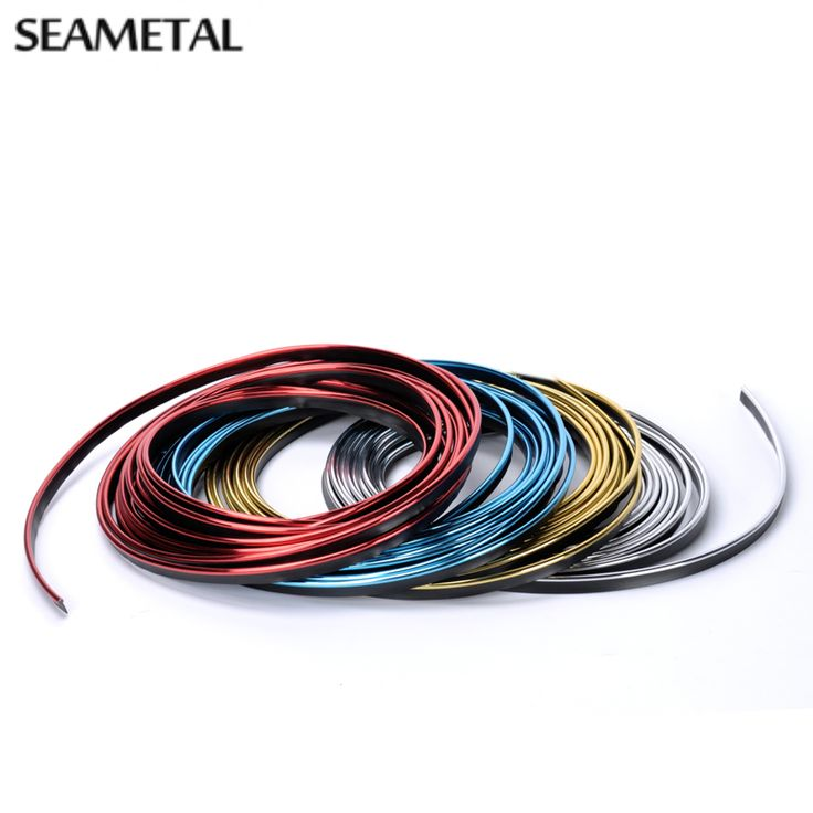 3M Car-Styling Interior Trim Thread Brand Decoration Strip Car Styling Sticker Stickers And Decals On Cars Auto Accessories DIY