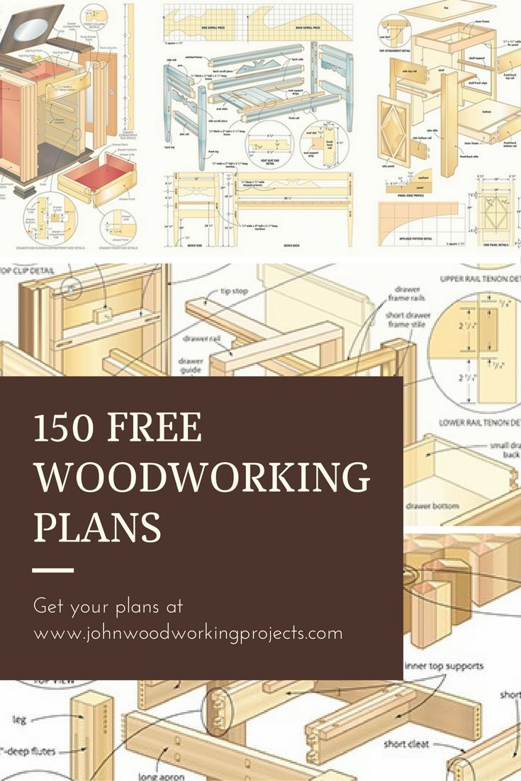 Get 150 Woodworking Plans More For Free Woodworking Projects Plans Woodworking Plans Free Simple Woodworking Plans