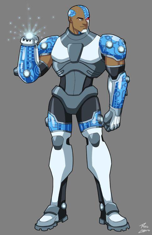 longlivethebat-universe:  Teen Titans by Phil Cho