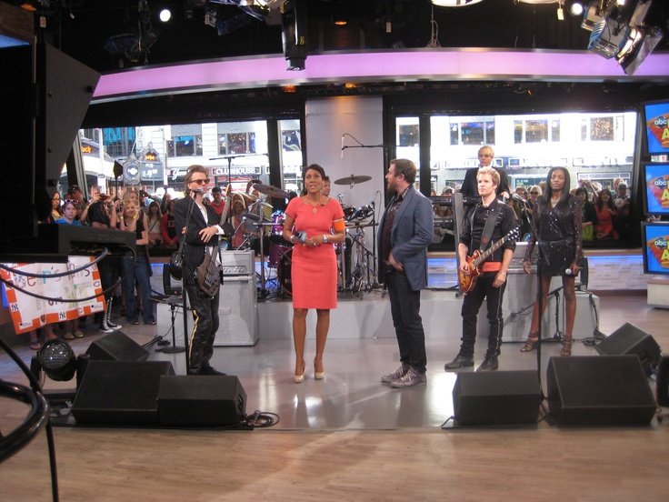 More DD from GMA - with Robin Roberts!Duran Duran, Simon Le, Durani United, Dd Misc, Good, Robin Robert, Favorite Pictures