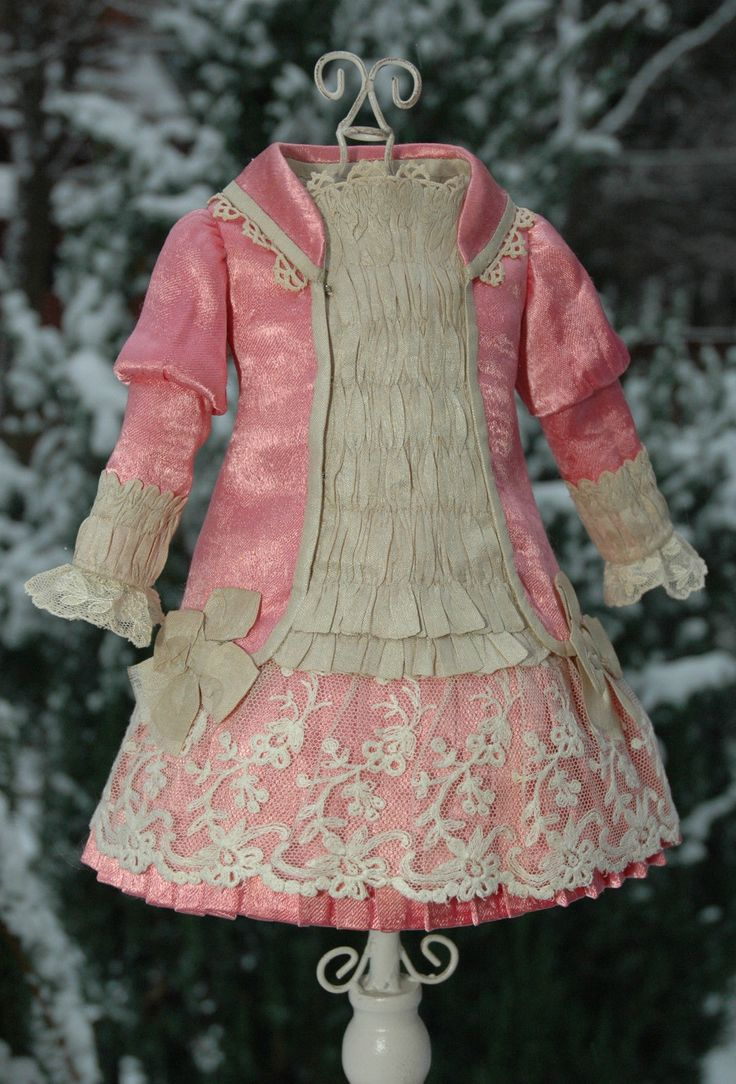 Beautiful vintage dress for French and German dolls | eBay
