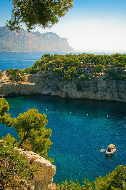 Calanque National Park, Marseille, Cassis Provence, France