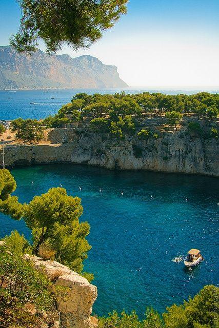Calanque Nemzeti Park ~ Marseille - Cassis Provence, Franciaország