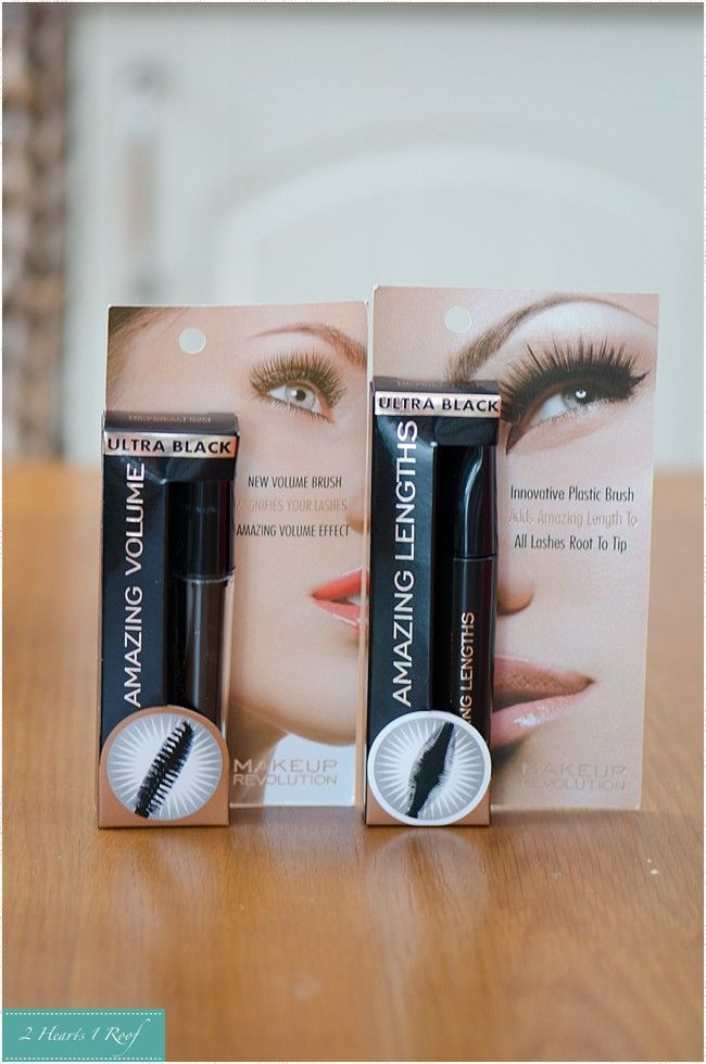 Makeup revolution mascara review on Two Hearts One Roof