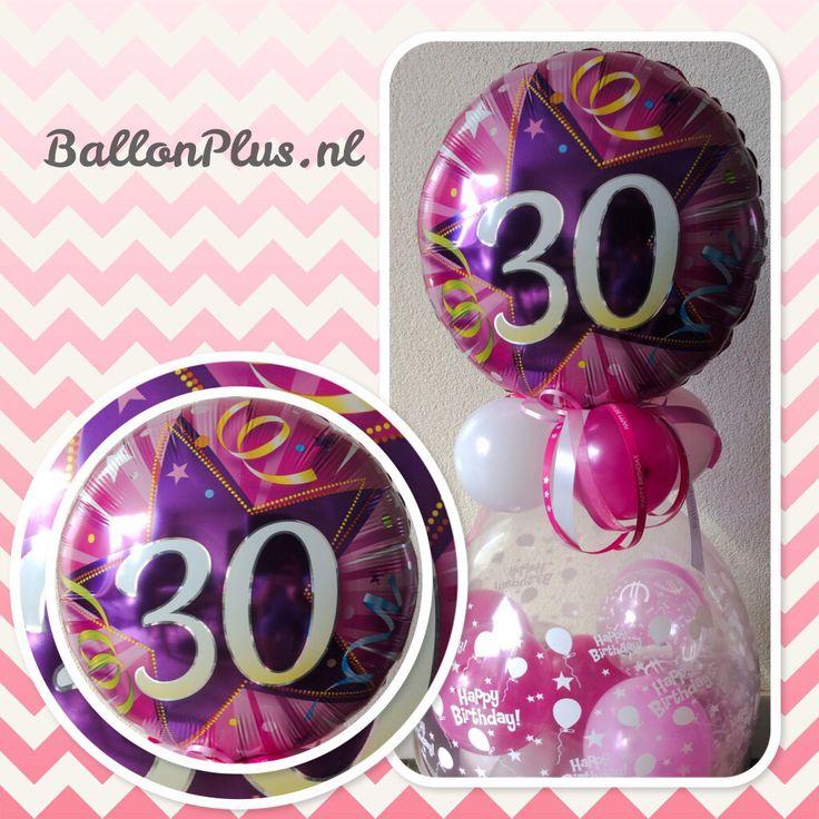 Geld Kado Ballon 30 jaar van BallonPlus.nl