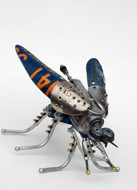 "robo bug, via Flickr. ""a man from ""heaven""""(c) rab'otyassthii mommment"