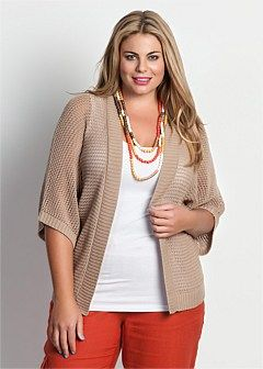 Plus Size Cardigans for Women - Plus Size Bolero | Plus Size Shrugs - Virtu