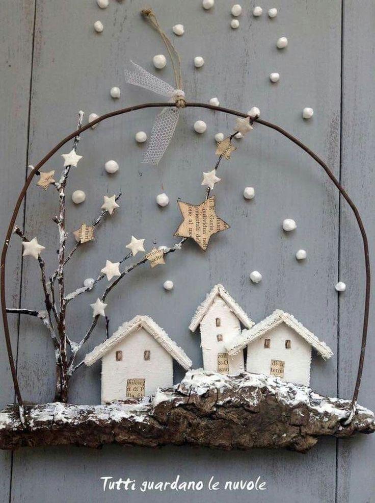 Brillante Weihnachtsdekoration Ideen für kleines …
