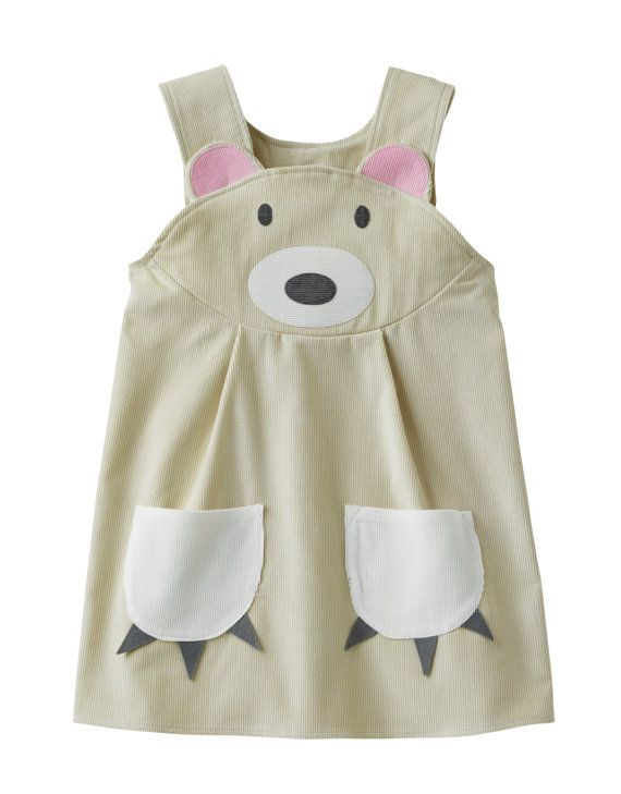 Polar Bear Girls Dress by wildthingsdresses on Etsy