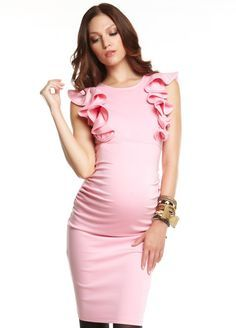 pink and white baby shower dress for mothers - Google Search