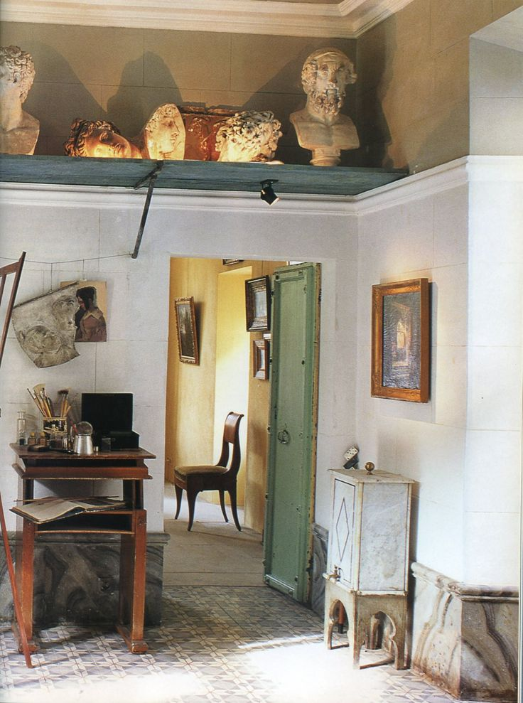 The World of Interiors, June 1996. Photo  - Jean Francois Jaussaud