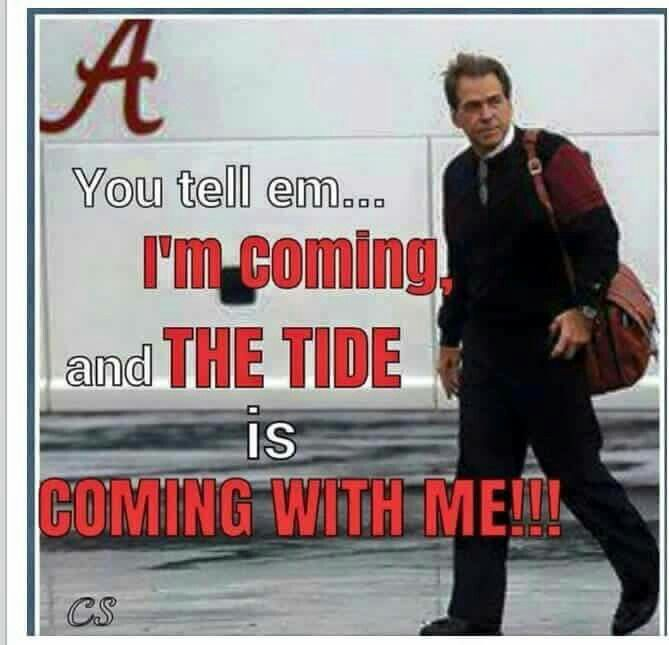 SABAN AND THE TIDE ARE COMING!!