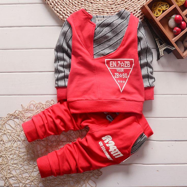 Jongen kleding mode baby boy kleding sets kid Volledige kleding + broek pak voor kinderen jongens kid kindje kleding set(China (Mainland))