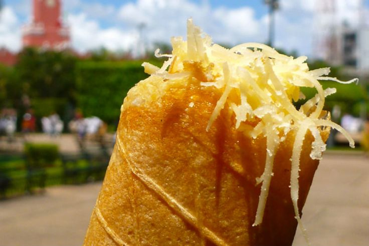 Las marquesitas son una deliciosa combinación de dulce con salado...