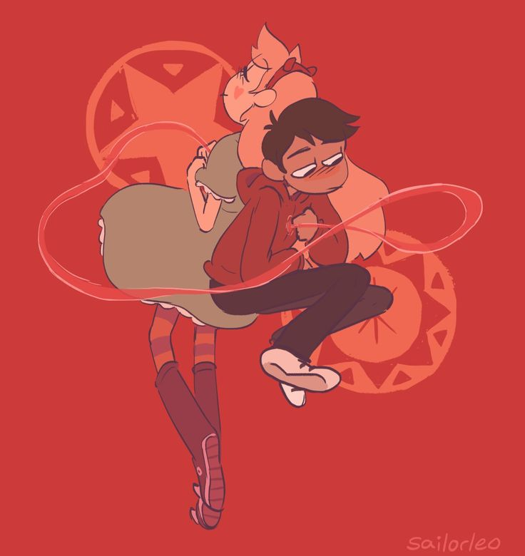 I just love this fanart, because somehow, it seems to relate to the Blood Moon Ball. I mean, these two are bound for ETERNITY, sort of like the red string of fate. :3
