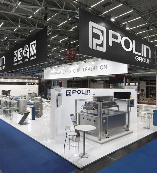 Polin it is a brand that always needs to emerge in trade shows and we always do our best to make it happen.