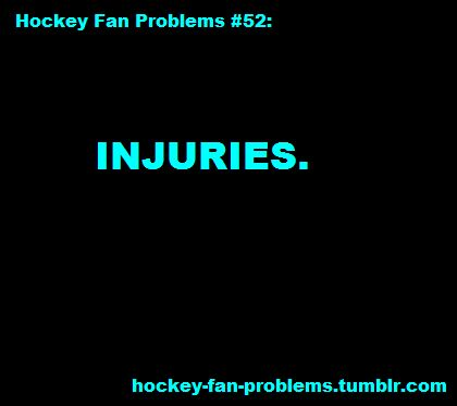 I don't even wanna talk about injuries, my whole NHL team is AHL players.