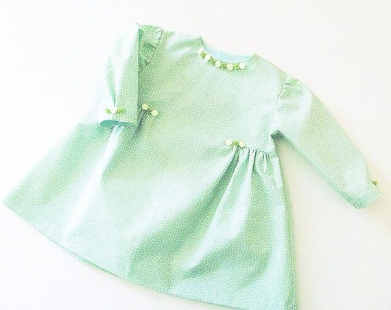 PRINCESS BABY Girl Dress sewing pattern Pdf Easy Long by PUPERITA