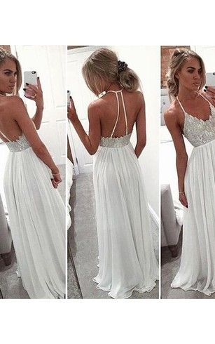 Image result for bohemian prom dresses