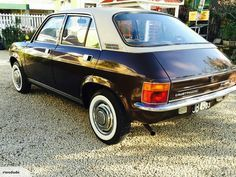 1978 Austin Allegro 1500 LE Automatic, New Zealand Assembled. (Rear View)