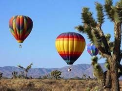 Hot air balloon rides in Scottsdale Arizona