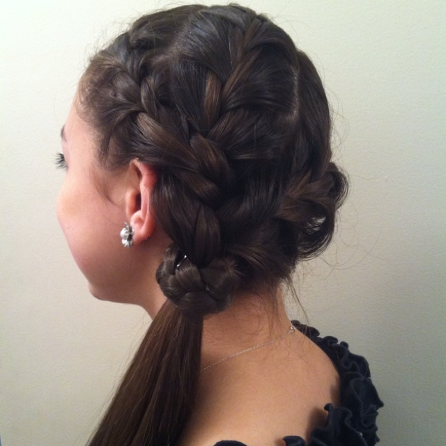 prom hair styles hair 15 best bun with ribbon images on hair dos 3891