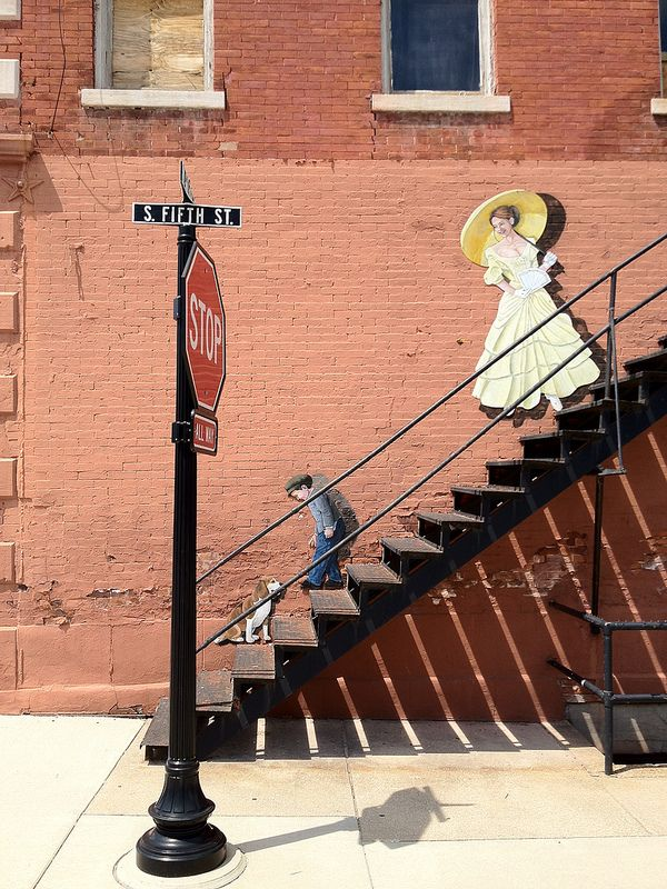 """Fifth Street Stairs"" Photo by Richie Diesterheft"